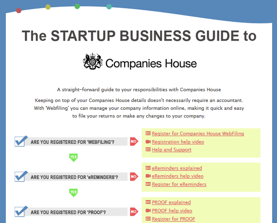 The Startup Business Guide to Companies House