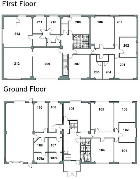 Carlton Business Centre Floor Plan