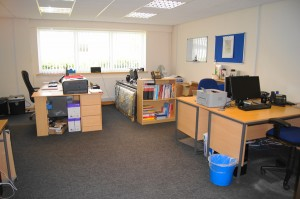 Offices are furnished or unfurnished